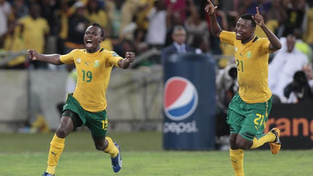 African Cup of Nations - South Africa through after dramatic finale