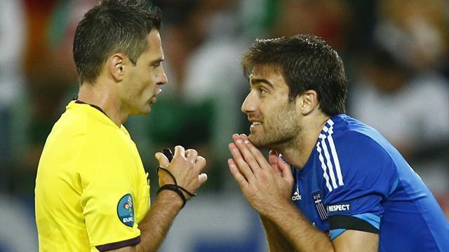 International friendlies - Sokratis shines as Greece draw with Swiss