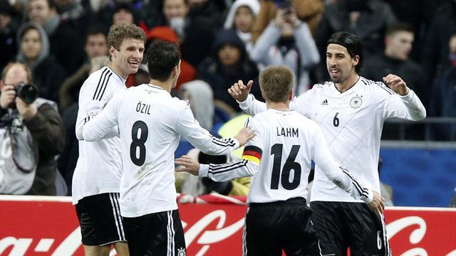World Football - Germany net long overdue win against France