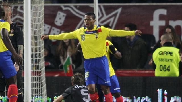 World Football - Caicedo fires winner as Ecuador beat Portugal in thriller