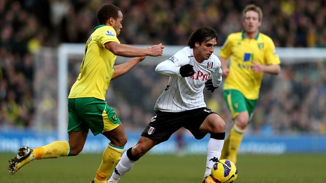 Premier League - Bore draw for Norwich and Fulham