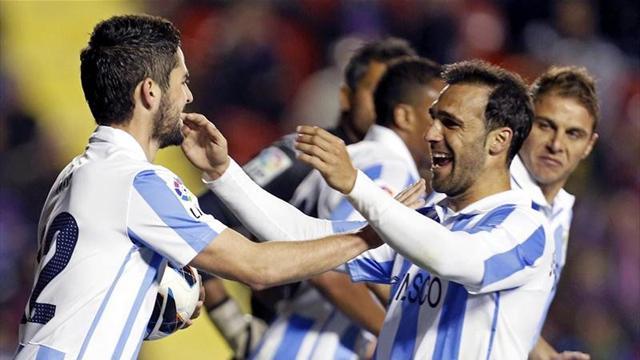 Liga - Malaga defeat Levante