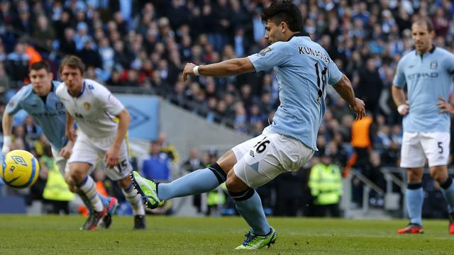 FA Cup - Man City stroll past Leeds and into last eight