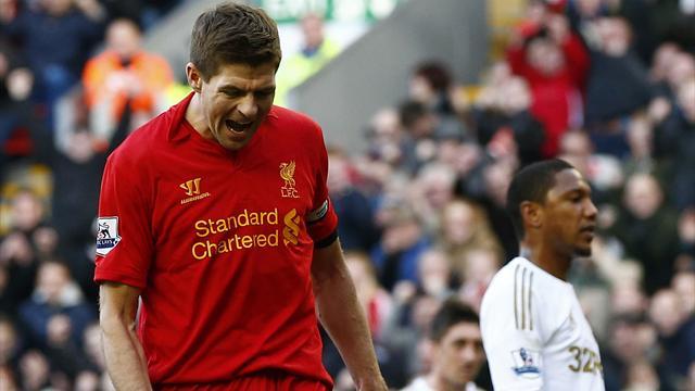 Premier League - Liverpool smash five past second-string Swansea