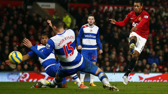 FA Cup - Nani leads United past battling Reading