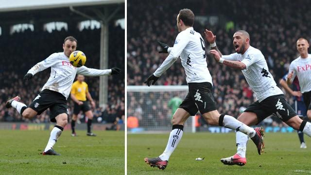 Premier League - Berbatov stunner seals Fulham win