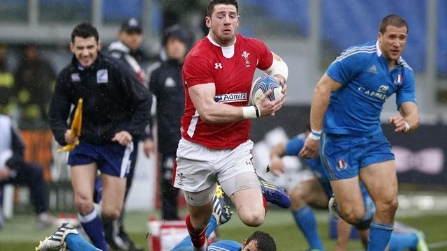 Six Nations - Wales overcome Italy in scrappy affair