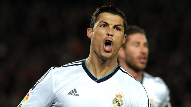 Liga - Ronaldo shines as Real stun Barca to reach Copa del Rey final