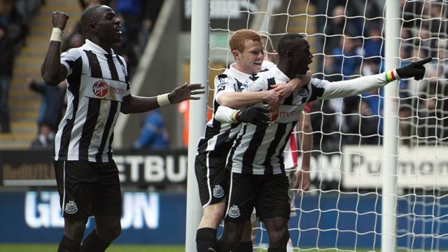 Premier League - Late Cisse strike earns Newcastle win over Stoke