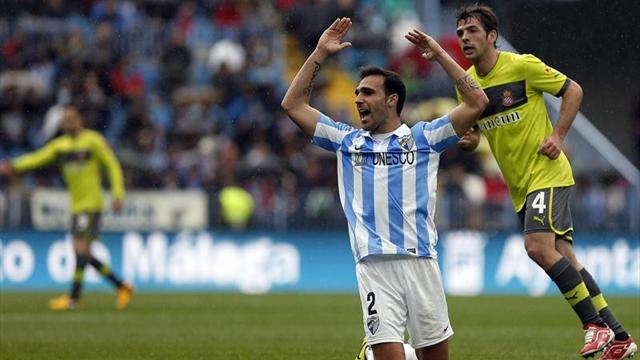 Spanish Liga - Malaga stunned by Espanyol