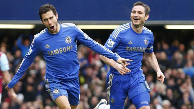 Premier League - Lampard on 200 as Chelsea beat West Ham