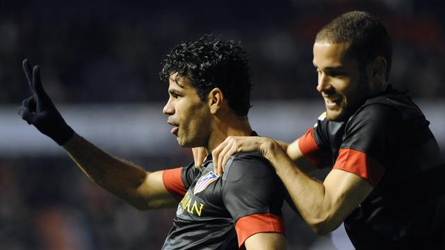 Spanish Liga - Diego Costa double downs Osasuna