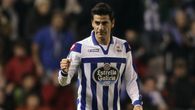 Liga - Depor secure big win in battle against drop