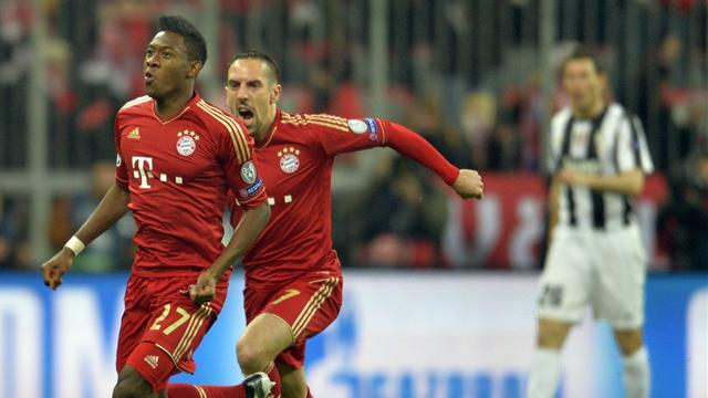 Champions League - Alaba and Mueller on target as Bayern beat Juventus