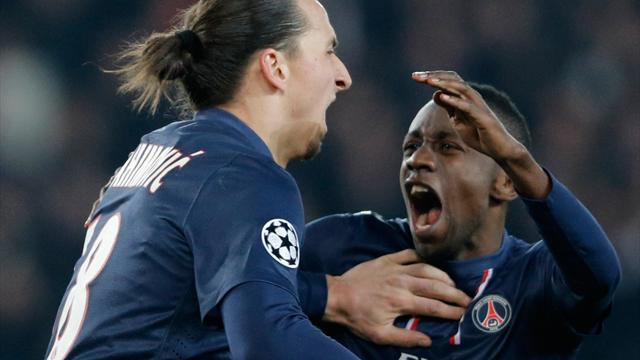 Champions League - PSG snatch late draw at home to Barcelona