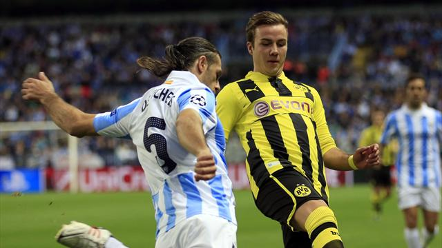 Champions League - Dortmund frustrated in Malaga stalemate