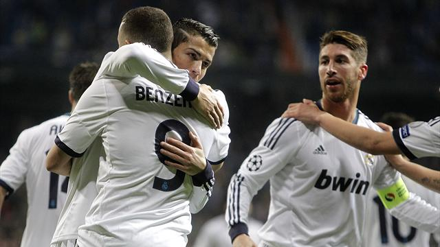 Champions League - Real Madrid score three in dominant display