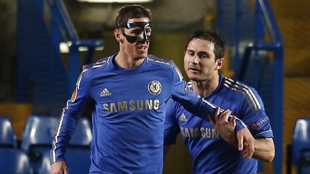 Europa League - Torres shines as Chelsea gain advantage over Rubin