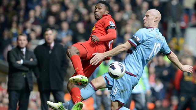 Premier League - Stubborn West Ham frustrate Liverpool