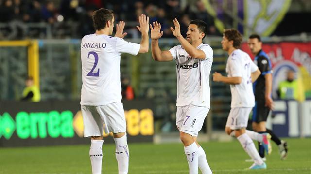 Italian Serie A - Fiorentina strike twice in second half to bury Atalanta