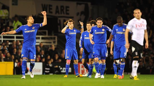 Premier League - Terry scores twice as Chelsea thrash Fulham
