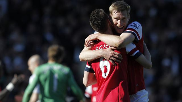 Premier League - Arsenal beat Fulham in game of two reds