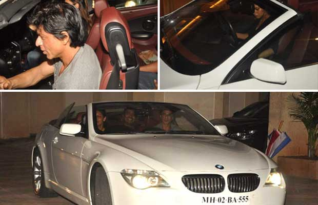 Shahrukh Khan Cars Images Shah Rukh Khan s Brand New
