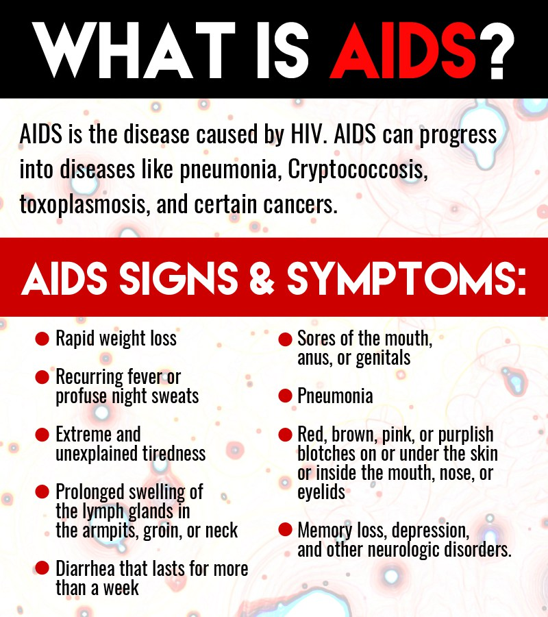 aids and hiv Hiv, or human immunodeficiency virus, can lead to aids (acquired immune deficiency syndrome) once hiv infection occurs, it persists for life a chimpanzee version of the hiv virus, known as simian immunodeficiency virus (siv), was believed to be transmitted to humans when chimpanzees were hunted .
