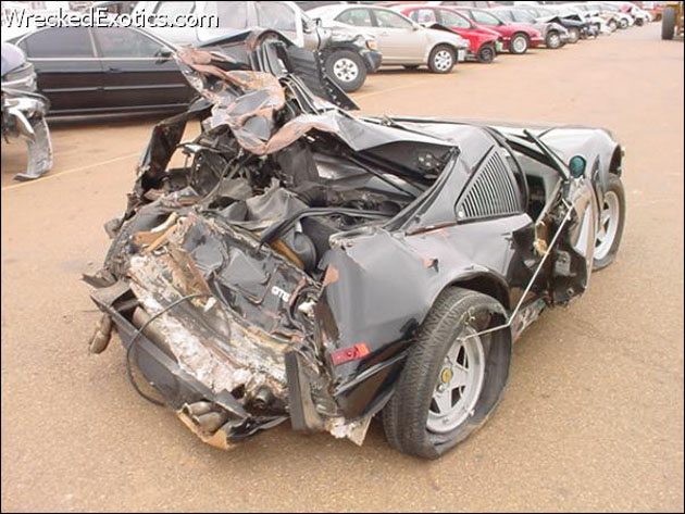 Five Worst Supercar Crashes
