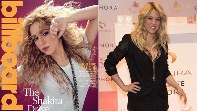 Shakira: Gerard Won't Let Me Do Videos With Men