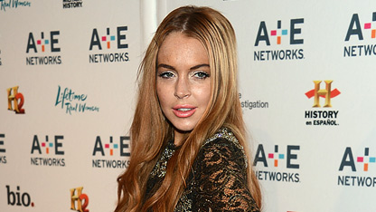 History repeats itself embattled actress lindsay lohan was reportedly