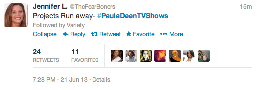 Paula Deen's Next Show? 8 of the Best Suggestions on Twitter (Photos)