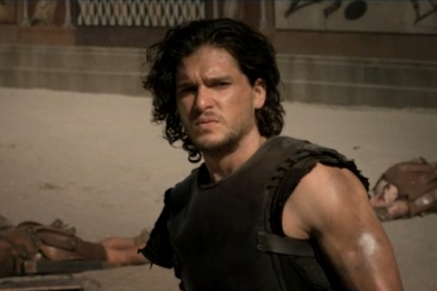 'Game of Thrones' Star Kit Harrington Fights Gladiators, Volcanoes in New 'Pompeii' Trailer (Video)