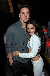 Hot couple Channing Tatum and Jenna Dewan make the scene at the Dizzy Feet Foundation's Inaugural Celebration of Dance at The Kodak Theater in LA on November 29, 2009 -- Getty Images