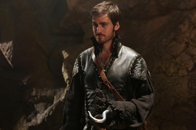 Colin O'Donoghue as Capt. Hook on 'Once Upon A Time' -- ABC