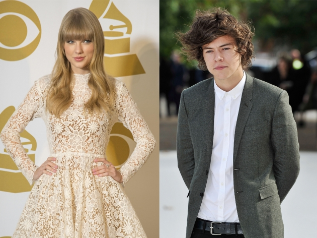 Taylor Swift, Harry Styles -- Getty Images