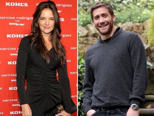 Katie Holmes / Jake Gyllenhaal -- Getty Premium