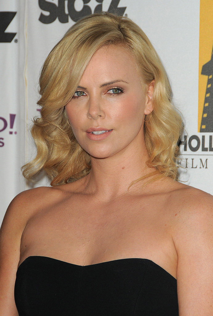 13th Annual Hollywood Awards Gala 2009 Charlize Theron