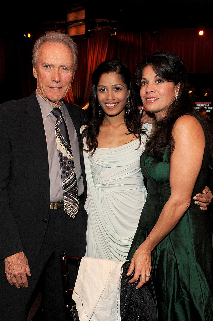 14th Annual Critics' Choice Awards 2009 Clint Eastwood Freida Pinto Dina Eastwood
