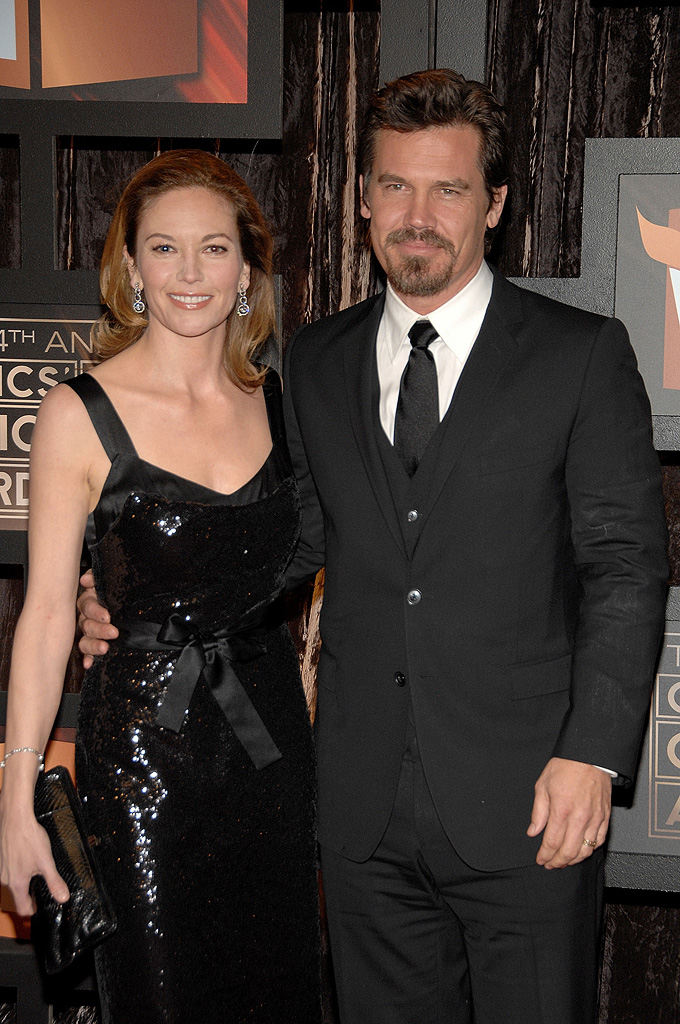 14th Annual Critics' Choice Awards 2009 Diane Lane Josh Brolin