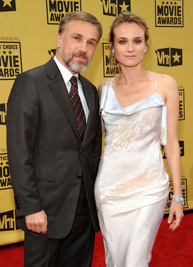 15th Annual Critics' Choice Awards 2010 Christoph Waltz Diane Kruger