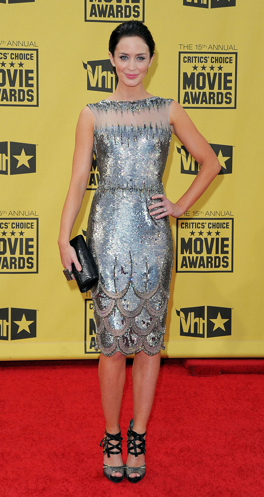 15th Annual Critic's Choice Awards 2010 Emily Blunt