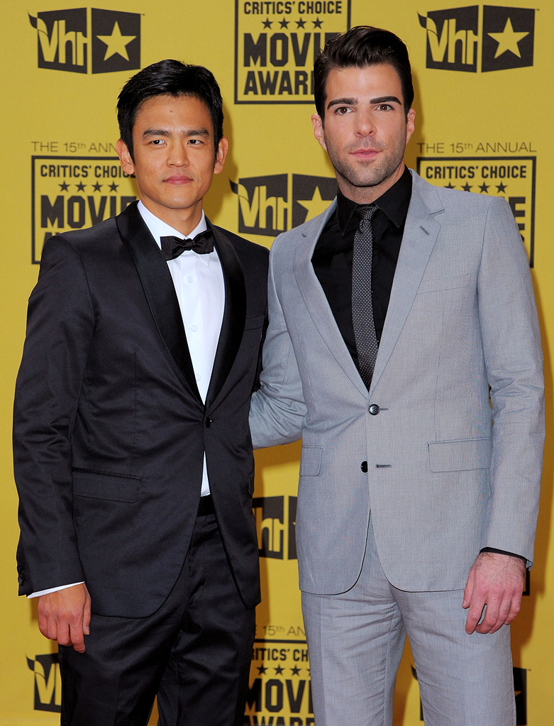 15th Annual Critic's Choice Awards 2010 John Cho Zachary Quinto