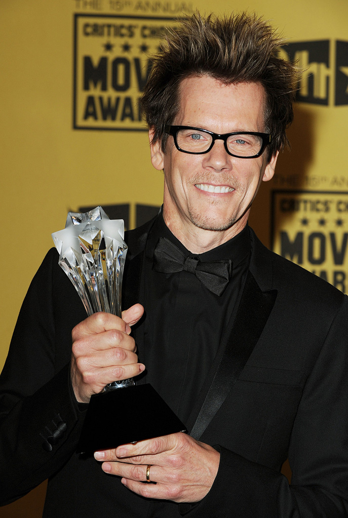 15th Annual Critics' Choice Awards 2010 Kevin Bacon
