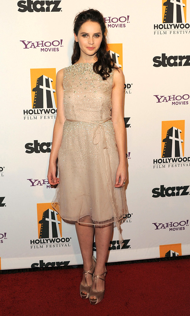 15th Annual Hollywood Film Awards Felicity Jones