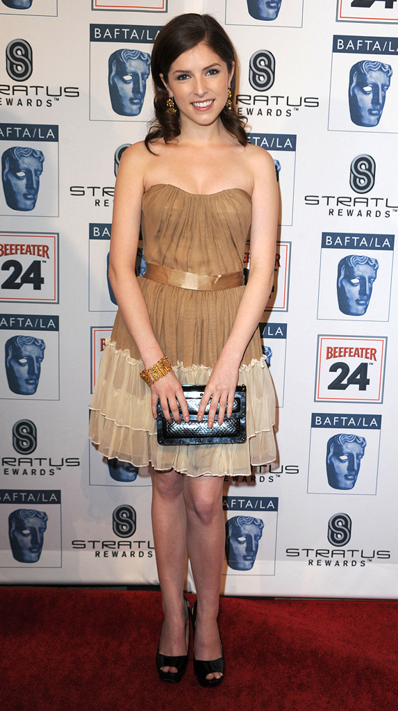 16th Annual BAFTA/LA Awards Season Tea Party 2010 Anna Kendrick