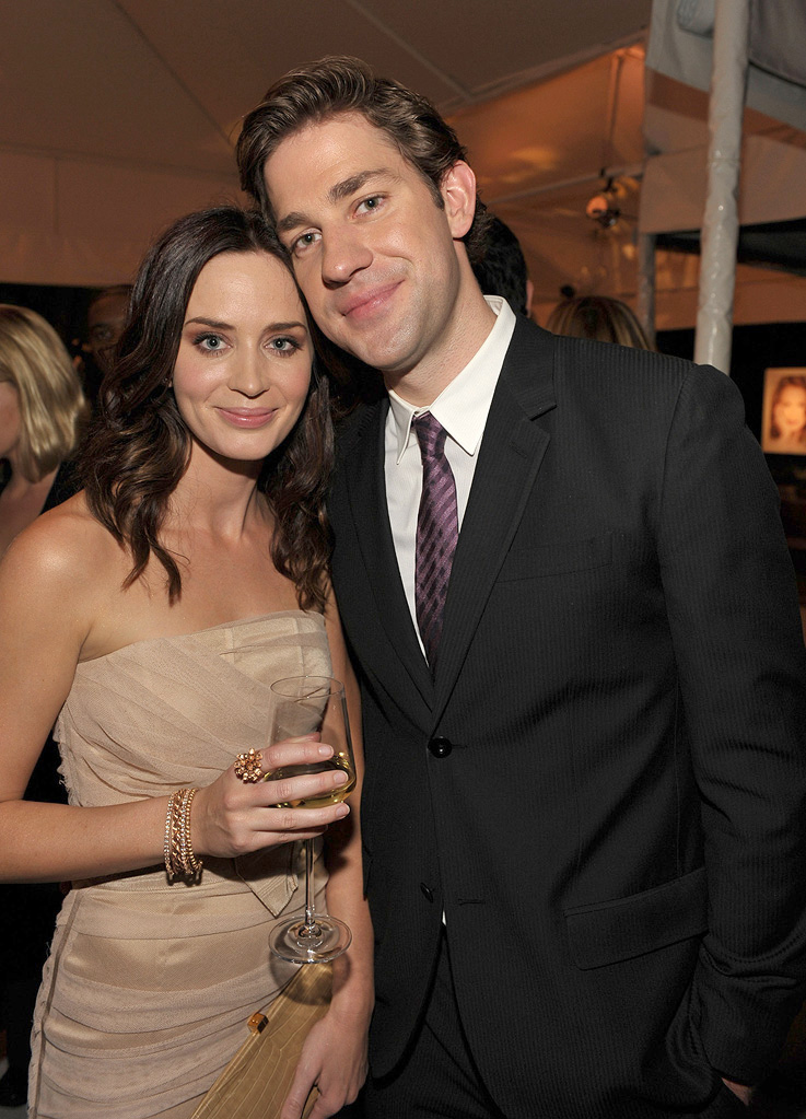 16th Annual ELLE Women in Hollywood Tribute 2009 Emily Blunt John Krasinski