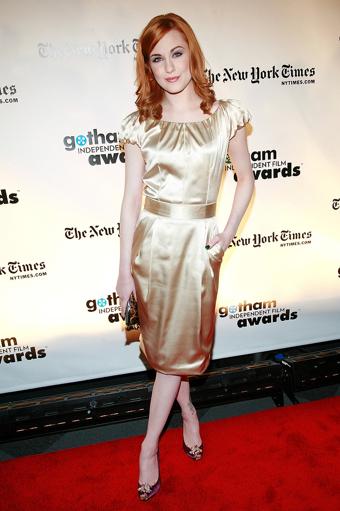 18th Annual Gotham Independent Film Awards NY 2008 Evan Rachel Wood