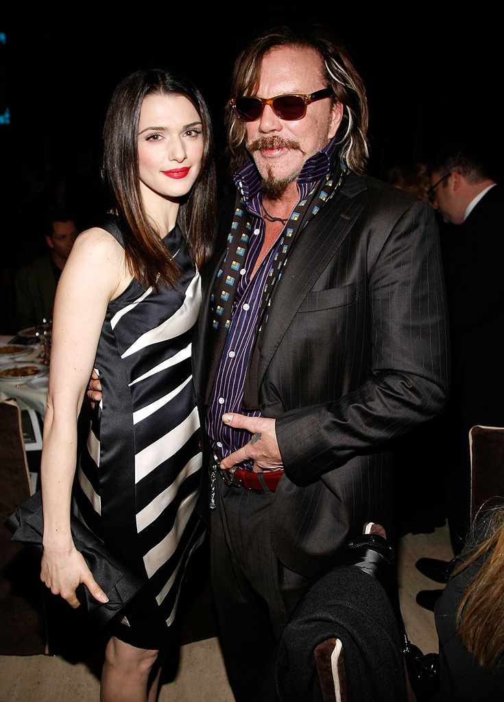 18th Annual Gotham Independent Film Awards NY 2008 Rachel Weisz Mickey Rourke