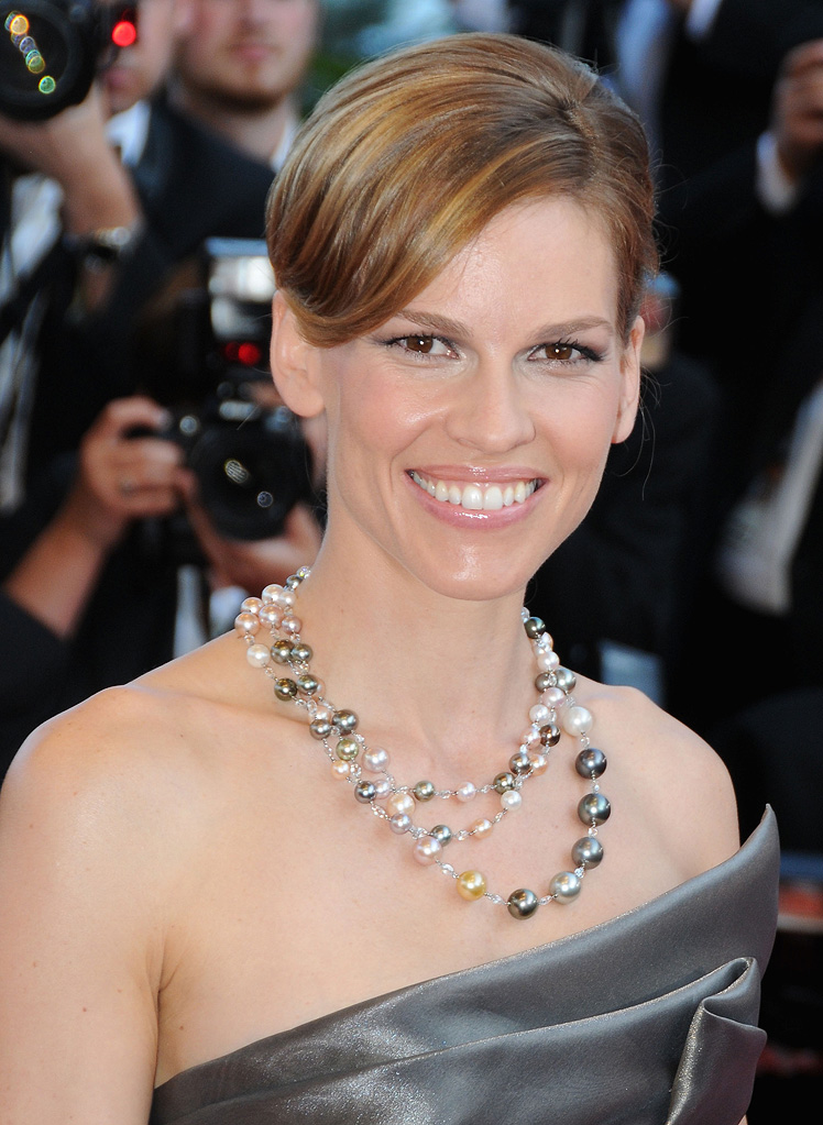 2009 Cannes Film Festival Looking for Eric Hilary Swank